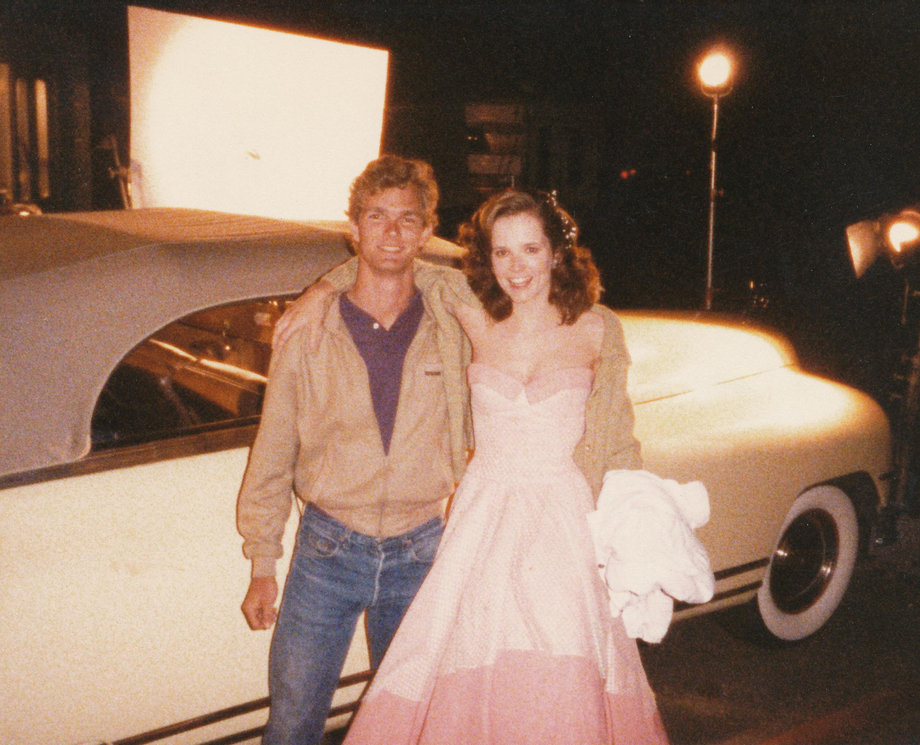 BTTF 35 years later: Lea with the owner of the 48 Packard | Lea Thompson  Porn XXX | Celebrity Nakeds XXX