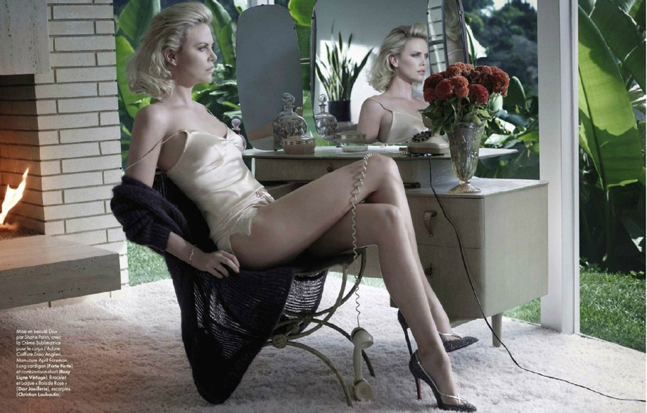 #Charlize Theron #sultry heroine (Elle france,January2012)???? Anyone have a high resolution version of this picture? | Charlize Theron  Porn XXX | Celebrity Nakeds XXX