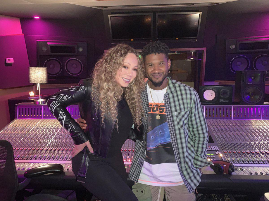 Did they record a song? This was June 2019.   Mariah Carey  Porn XXX   Celebrity Nakeds XXX