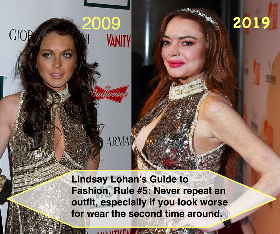 Fashion Icon *Lindsay Lohan* outed as Outfit Repeater!   Lindsay Lohan  Porn XXX   Celebrity Nakeds XXX
