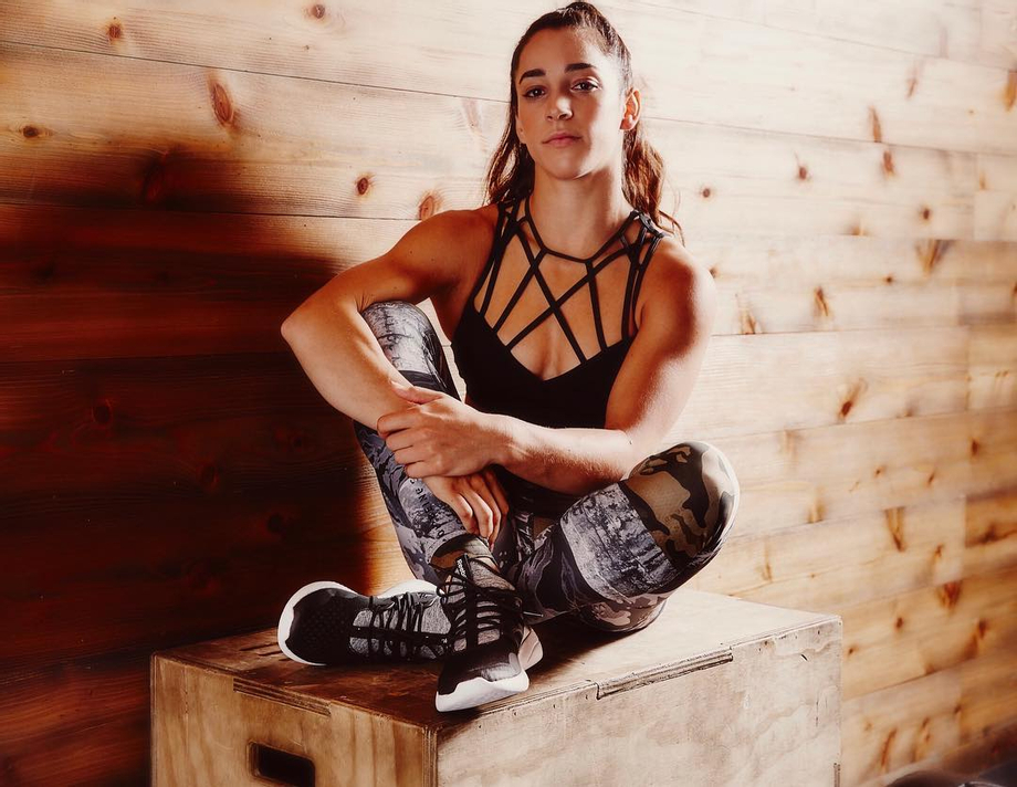 I always thought she looked ready to enter the WWE ring in this outfit   Aly Raisman  Porn XXX   Celebrity Nakeds XXX