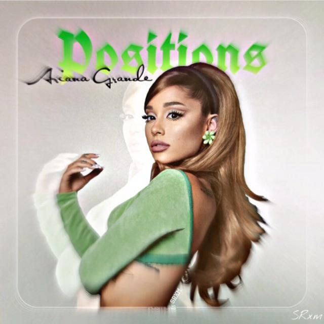 I got bored and ended up designing an album cover for Positions :)   Ariana Grande  Porn XXX   Celebrity Nakeds XXX