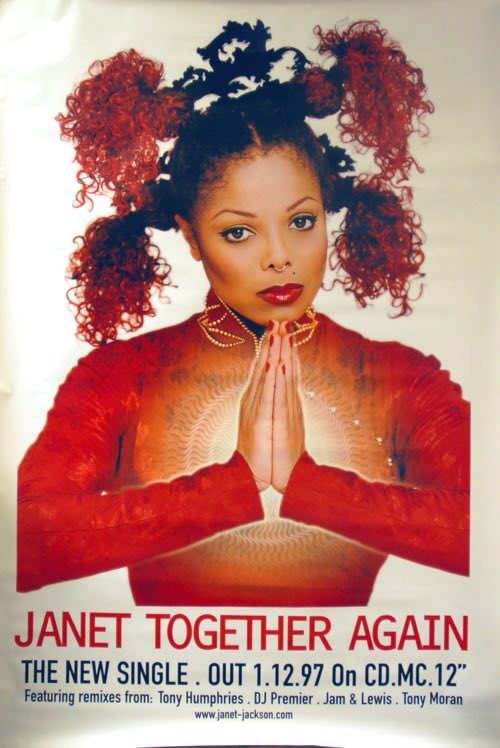 in 1997 Janet Jackson releases the 2nd single from 'The Velvet Rope' in the U.K. on #WorldAIDSDay 'Together Again' gets certified PLATINUM by the BPI, goes to NUMBER ONE on the U.K. R&B chart and becomes Janet's best selling U.K. spending 19 week | Janet Jackson  Porn XXX | Celebrity Nakeds XXX
