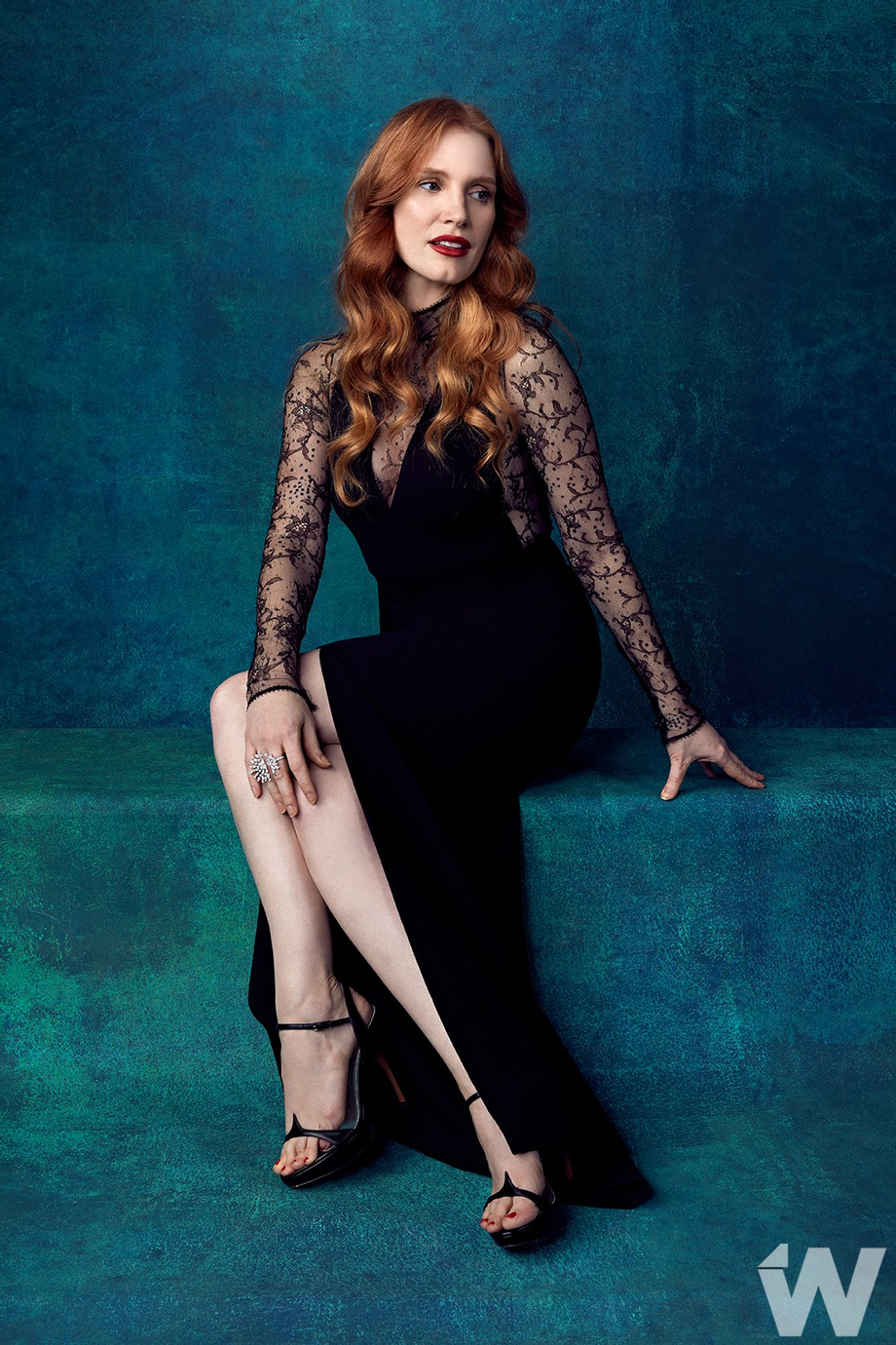 Jessica\'s portrait by Corina Marie for The Wrap at 29th Annual Palm Springs International Film Festival | Jessica Chastain  Porn XXX | Celebrity Nakeds XXX