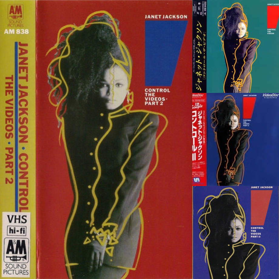On This Day 1987 'Control: The videos' by Janet Jackson is certified platnum by the RIAA. The collection goes to No1 on the music video chart for two weeks. In Japan the laserdisc is certified gold and goes to No1 for two weeks! Two versions are rele | Janet Jackson  Porn XXX | Celebrity Nakeds XXX