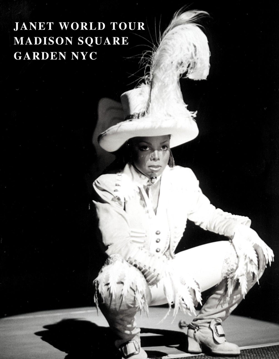 On This Day in 17th 1993 Janet Jackson starts a four night sold out run at the world famous Madison Square Gardens, NYC as part of the ICONIC janet world tour! A FIFTH SOLD OUT show takes place on December 31st bringing in the new year! What a tour!  | Janet Jackson  Porn XXX | Celebrity Nakeds XXX