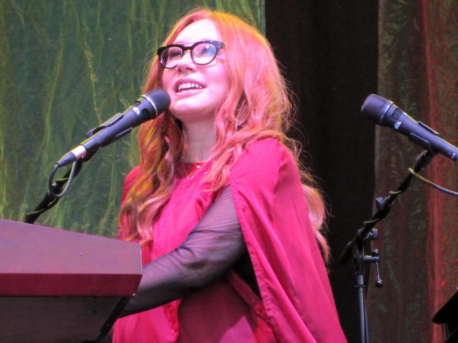 Taken at a mindblowing festival show by the woods, by the woods, by the woods... | Tori Amos XXX | Celebrity Nakeds XXX