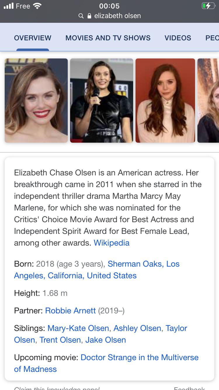 Crazy to think she was only born 3 years ago and somehow had her breakthrough in 2011!! | Elizabeth Olsen XXX | Celebrity Nakeds XXX
